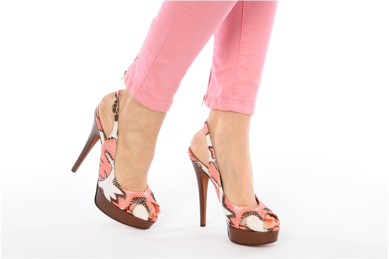Sandalen Missoni Meissa mehrfarbig ansicht von unten / tasche getragen