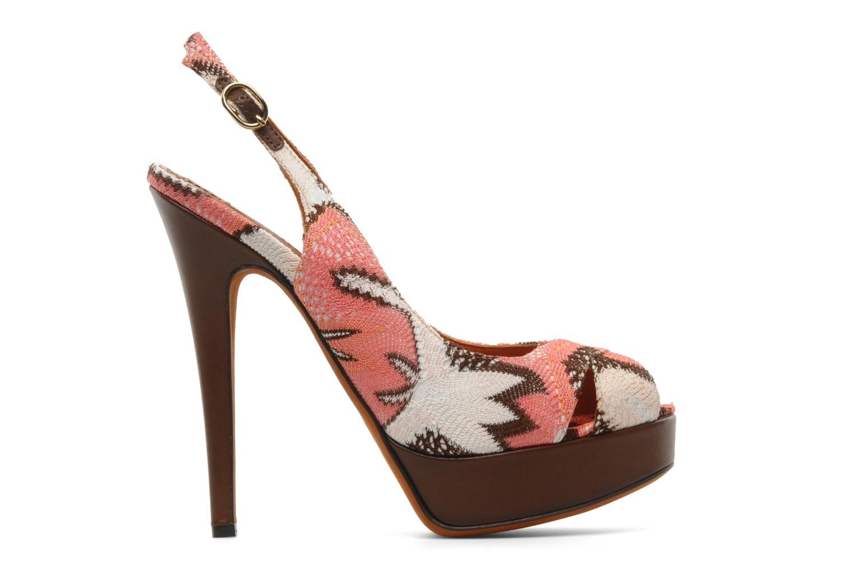 Sandales et nu-pieds Missoni Meissa Multicolore vue derrière
