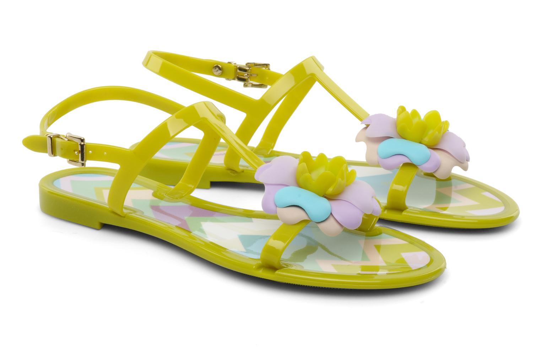 Sandales et nu-pieds Missoni Melise Vert vue 3/4