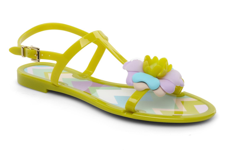 Sandales et nu-pieds Missoni Melise Vert vue détail/paire