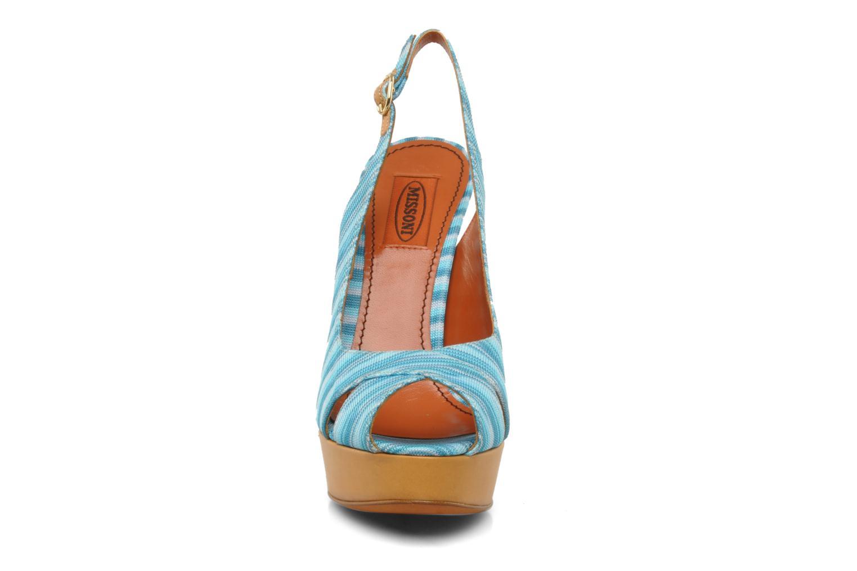Sandales et nu-pieds Missoni Miranie Multicolore vue portées chaussures