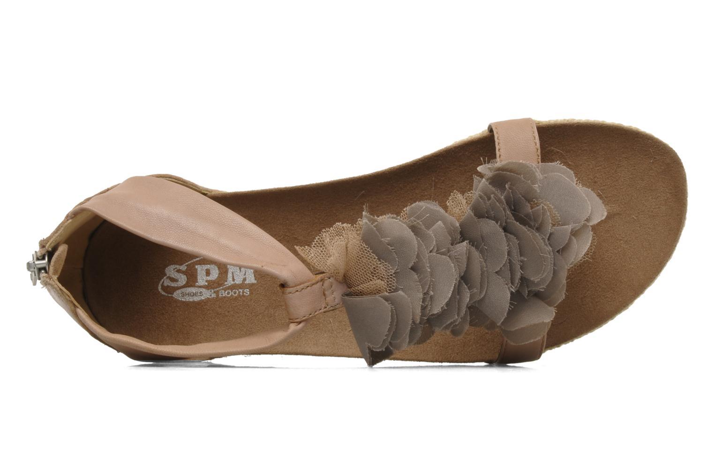 Sandales et nu-pieds SPM Naily Rose vue gauche