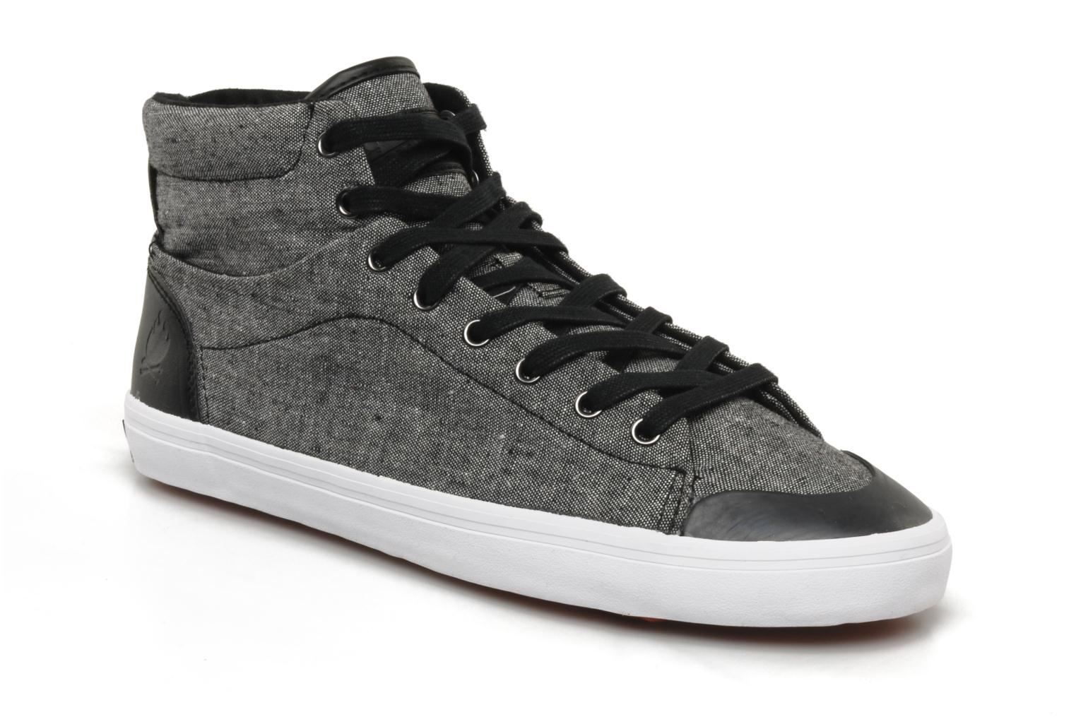 Baskets Bobbie Burns Hemp mid textile M Gris vue détail/paire