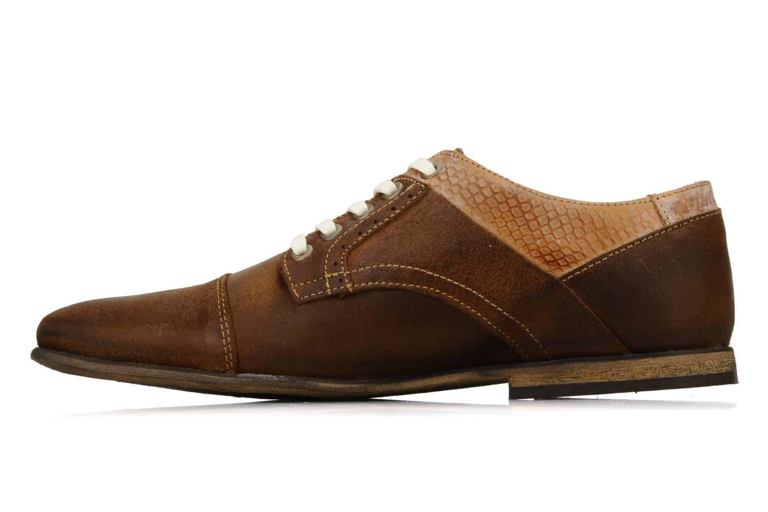 Lace-up shoes Bullboxer Herma Brown front view
