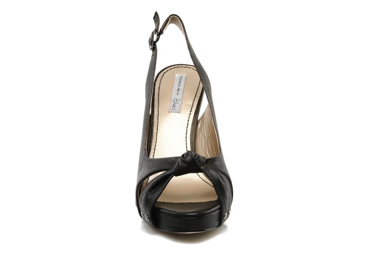 Sandalen Tosca Blu Shoes Ninfea schwarz schuhe getragen