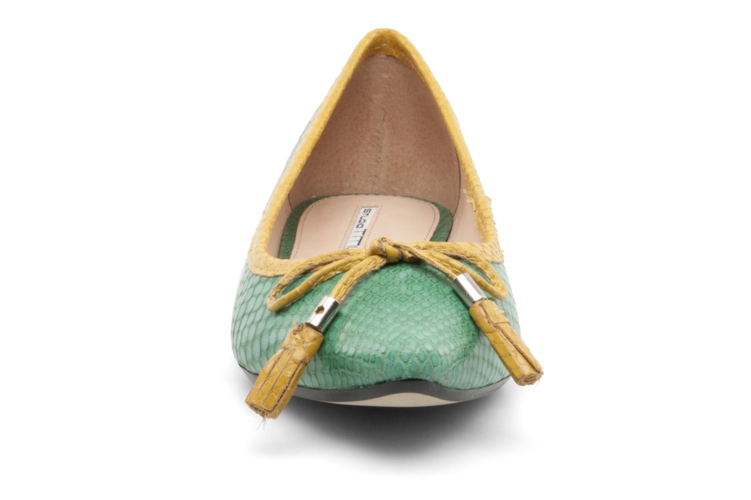 Ballet pumps Studio TMLS Saara Green model view