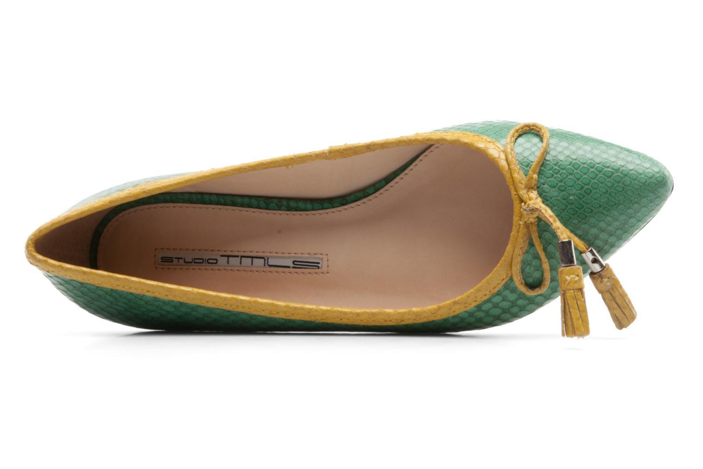 Ballerinas Studio TMLS Saara grün ansicht von links