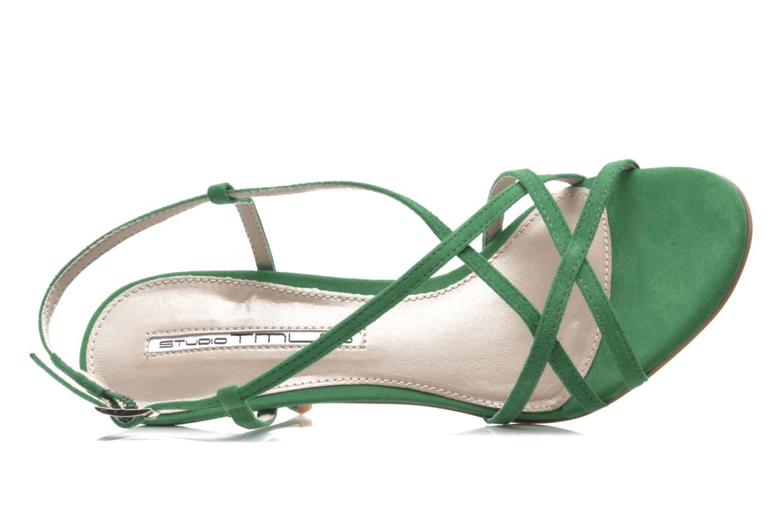Sandales et nu-pieds Studio TMLS Isabel Vert vue gauche