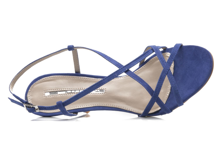 Sandalen Studio TMLS Isabel blau ansicht von links