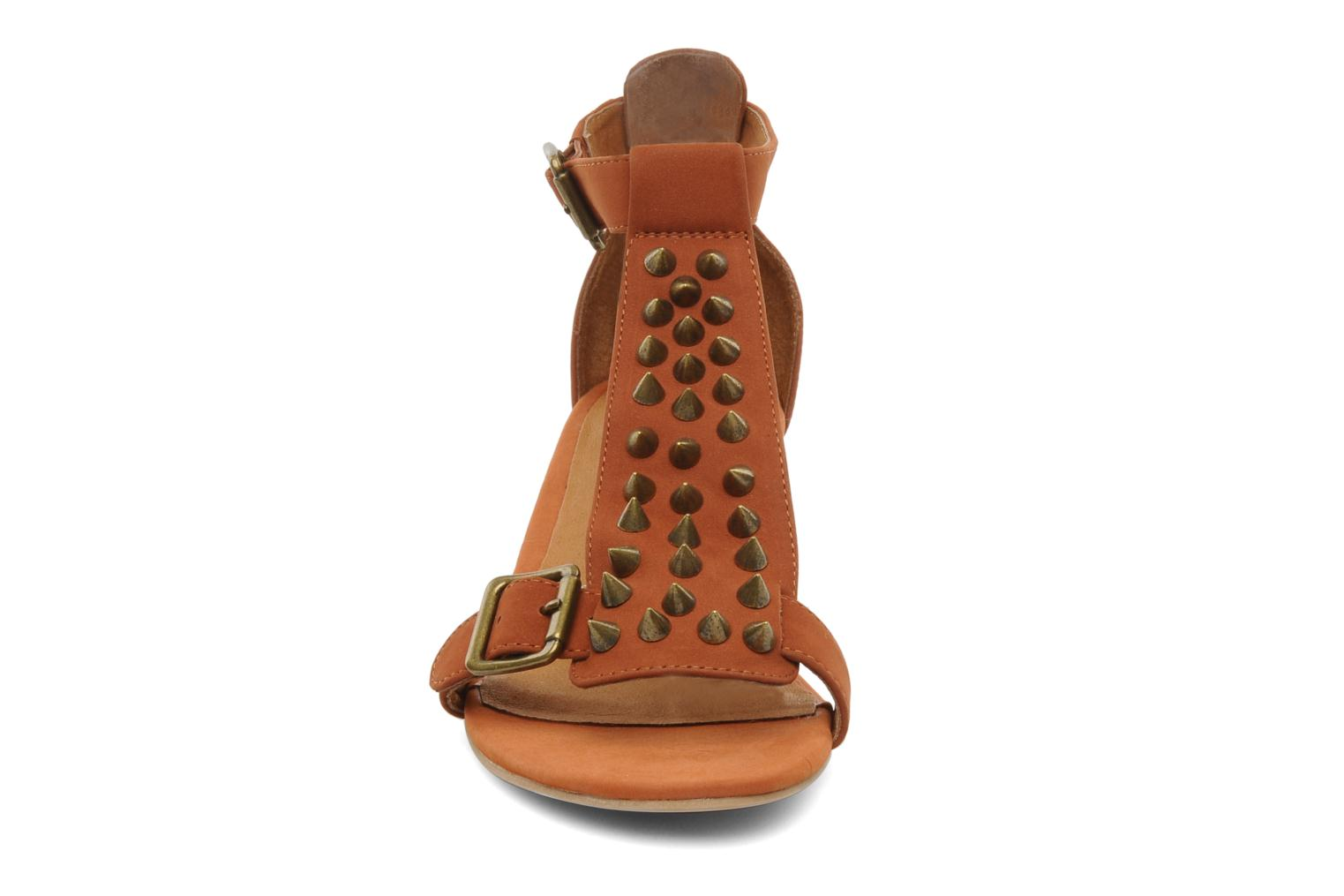 Sandals Jeffrey Campbell Barbary Spike Brown model view