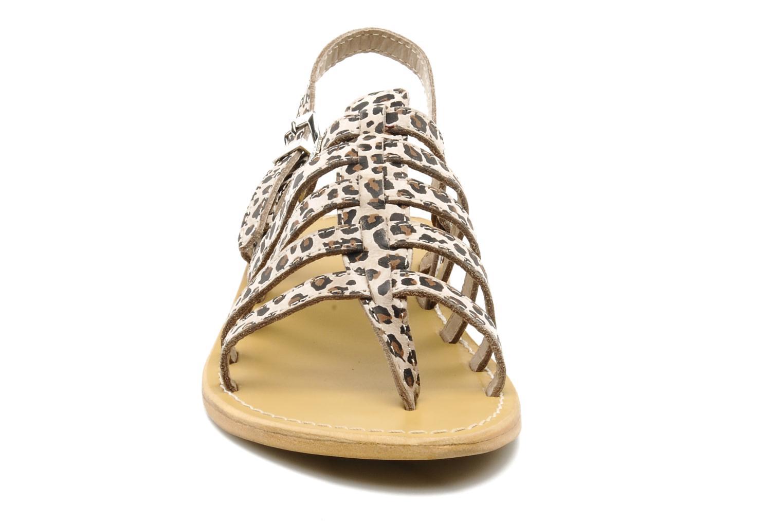 Sandales et nu-pieds Les Tropéziennes par M Belarbi Leopard Multicolore vue portées chaussures
