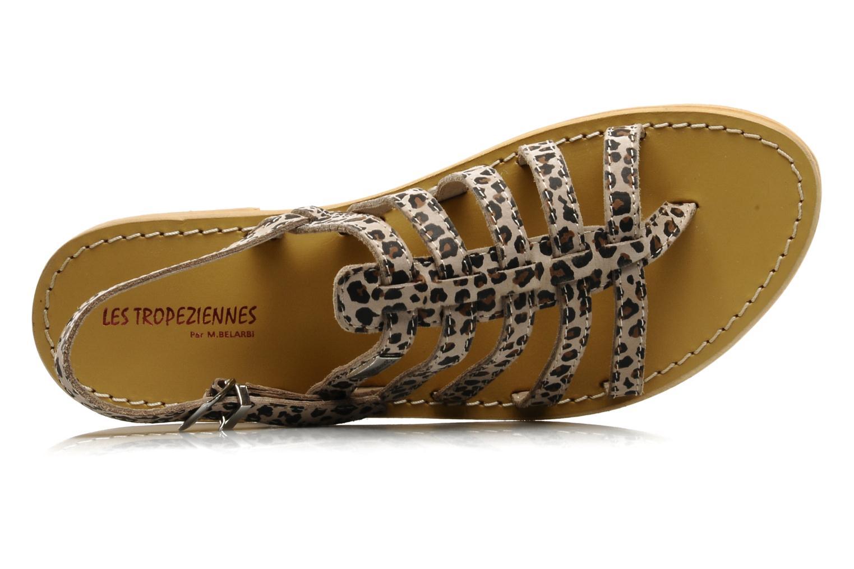 Sandalen Les Tropéziennes par M Belarbi Leopard mehrfarbig ansicht von links