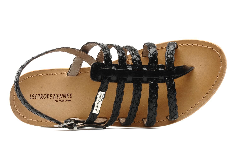 Sandales et nu-pieds Les Tropéziennes par M Belarbi Heritres Noir vue gauche