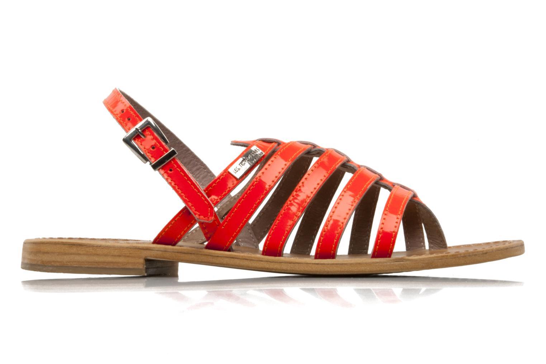Sandales et nu-pieds Les Tropéziennes par M Belarbi Herflash Orange vue derrière