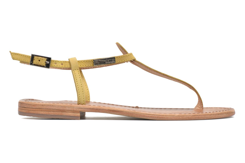 Sandalen Les Tropéziennes par M Belarbi Narbuck gelb ansicht von hinten