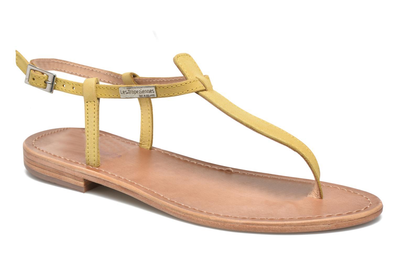 Sandalen Les Tropéziennes par M Belarbi Narbuck gelb detaillierte ansicht/modell