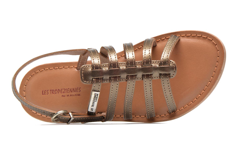 Sandali e scarpe aperte Les Tropéziennes par M Belarbi Mangue E Oro e bronzo immagine sinistra