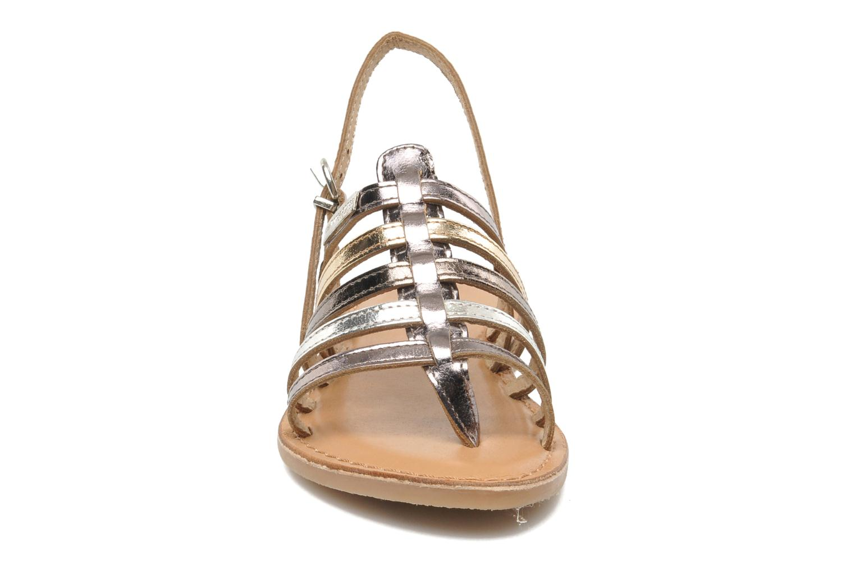 Sandalen Les Tropéziennes par M Belarbi Herisson E silber schuhe getragen