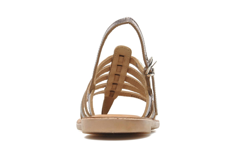 Sandalen Les Tropéziennes par M Belarbi Herisson E silber ansicht von rechts
