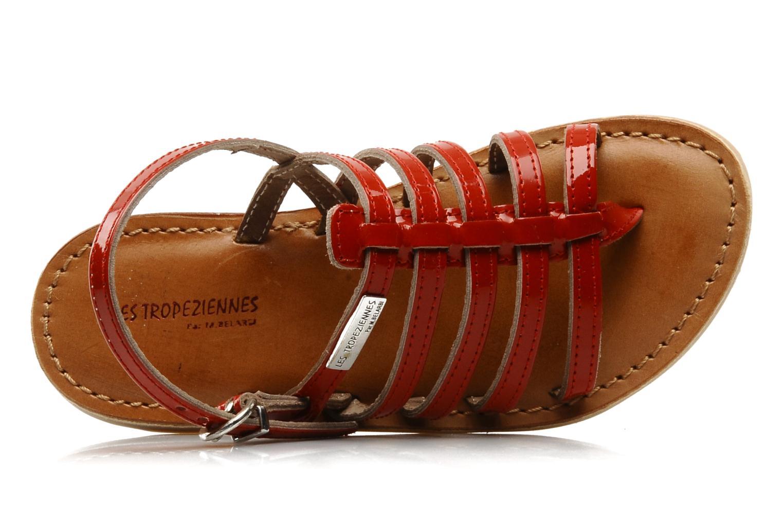 Sandales et nu-pieds Les Tropéziennes par M Belarbi Herisson E Rouge vue gauche