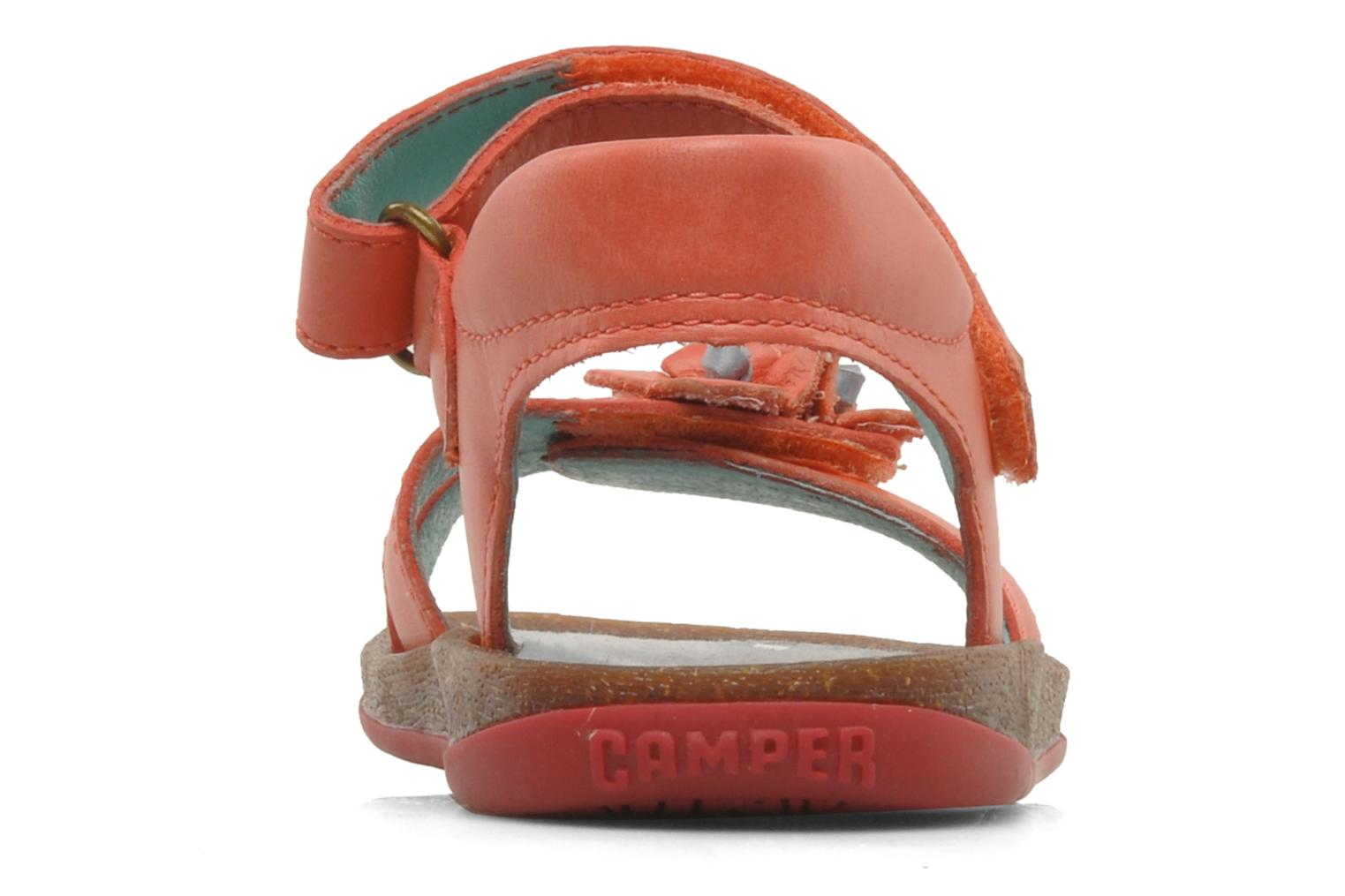 Sandals Camper Bicho Kids 80303 Pink view from the right