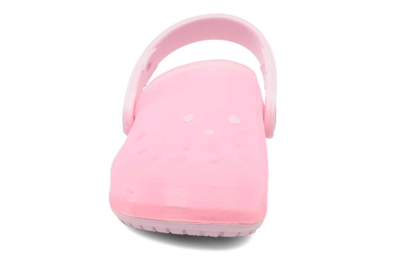 Sandalen Crocs Crocs Chameleons Translucent Clog Kids rosa schuhe getragen