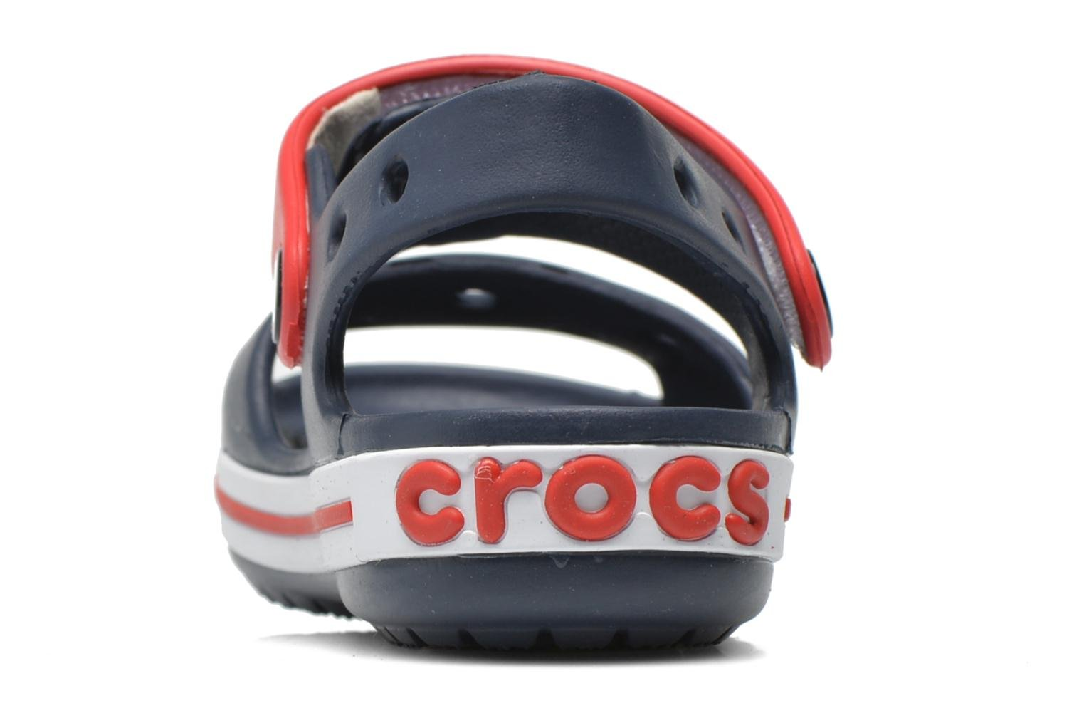 Crocband Sandal Kids Navy Red