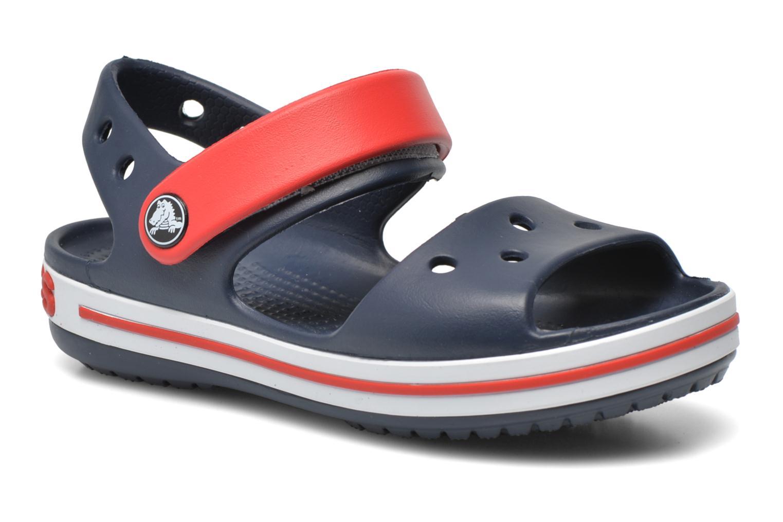 Crocband Sandal Kids Navy Red