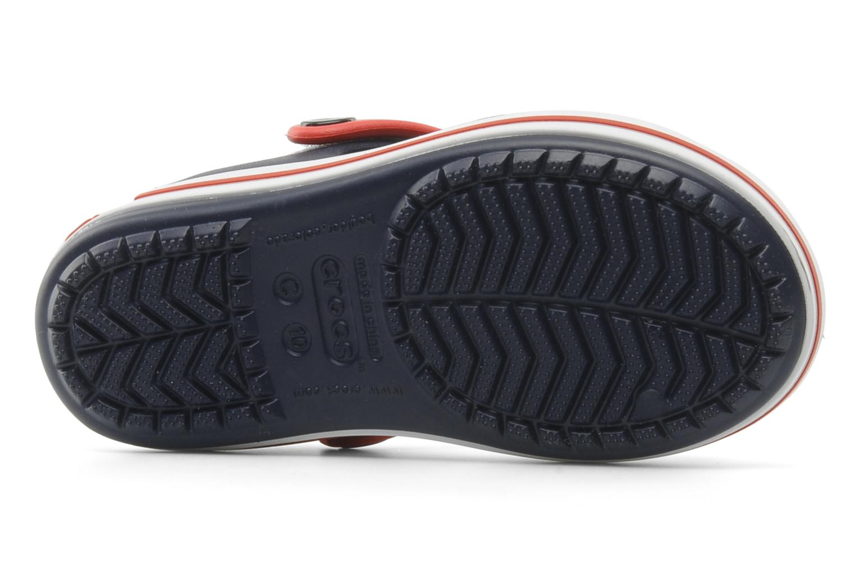 Sandales et nu-pieds Crocs Crocband Sandal Kids Bleu vue haut