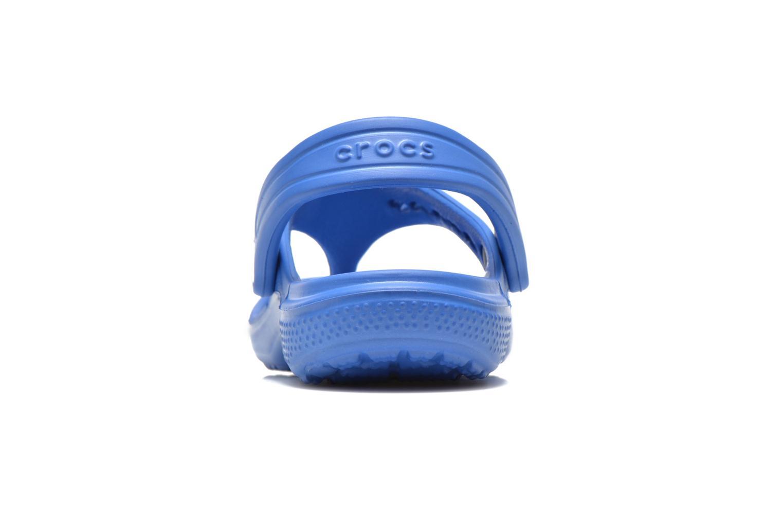 Tongs Crocs Baya Summer Flip Kids Bleu vue droite