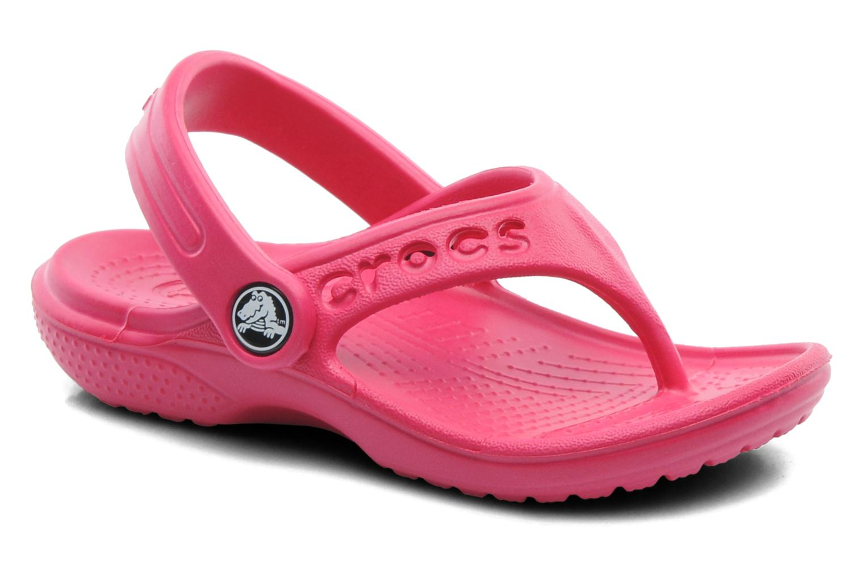 Slippers Crocs Baya Summer Flip Kids Roze detail