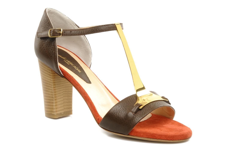 Sandali e scarpe aperte Atelier Mercadal Sandale Lee Marrone vedi dettaglio/paio