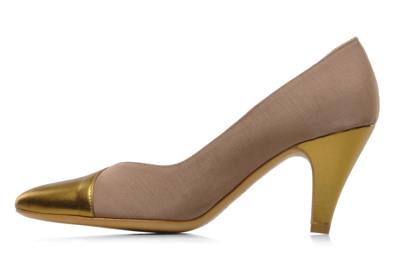 Høje hæle Atelier Mercadal Escarpin Vintage Vava Guld og bronze se forfra