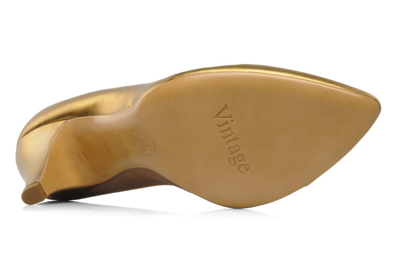Høje hæle Atelier Mercadal Escarpin Vintage Vava Guld og bronze se foroven