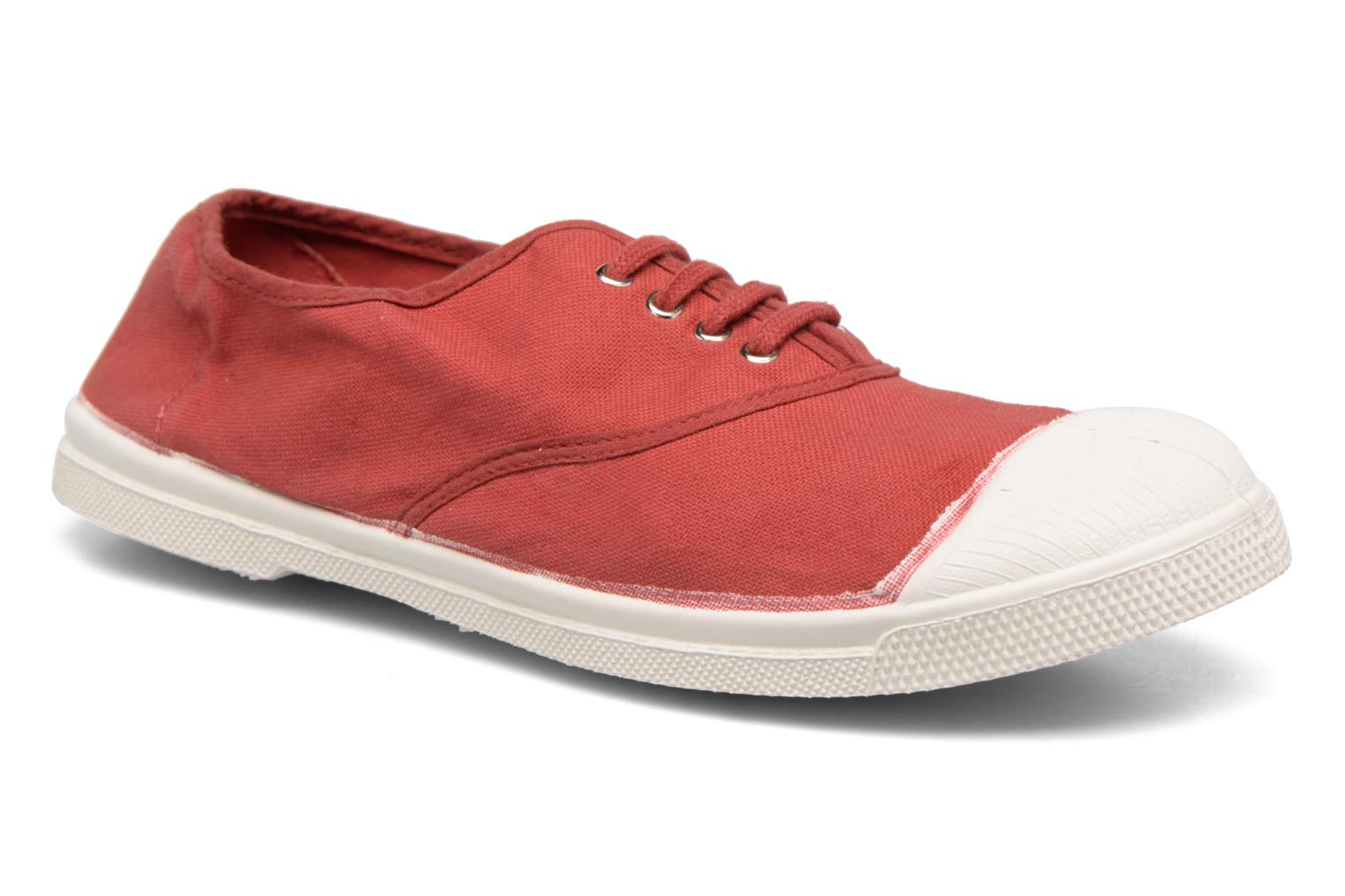 Tennis Lacets rouge 3