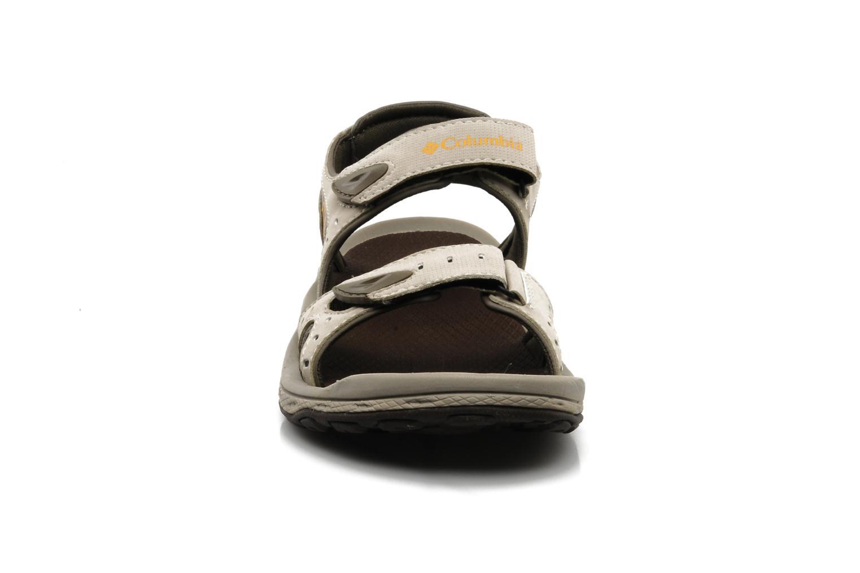 Chaussures de sport Columbia Techsun 3 Beige vue portées chaussures