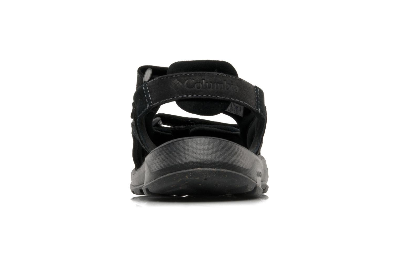 Chaussures de sport Columbia Monterosso Noir vue droite