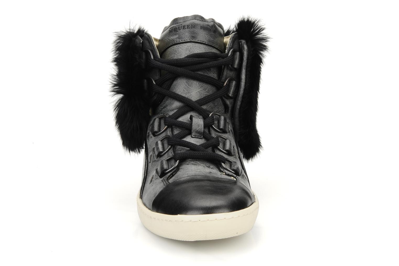 Baskets Puma by Alexander Mc Queen W's amq bound mid Noir vue portées chaussures