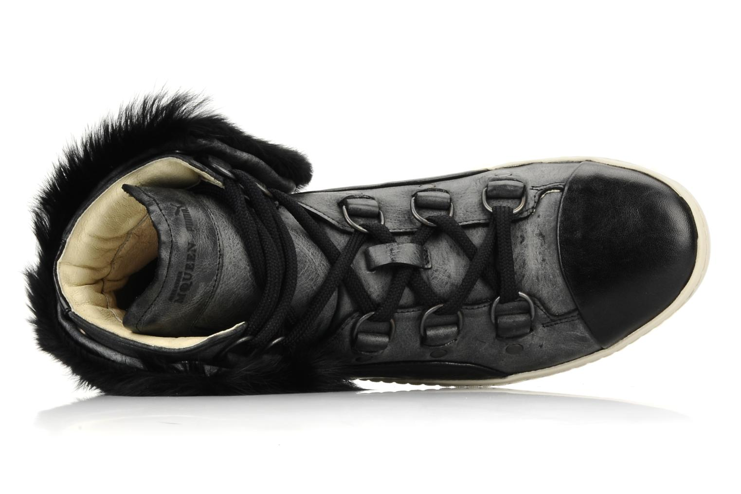 Trainers Puma by Alexander Mc Queen W's amq bound mid Black view from the left