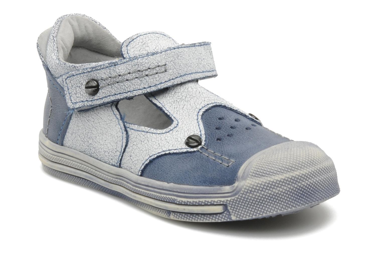 Sandales et nu-pieds Minibel CEYLAN Bleu vue détail/paire