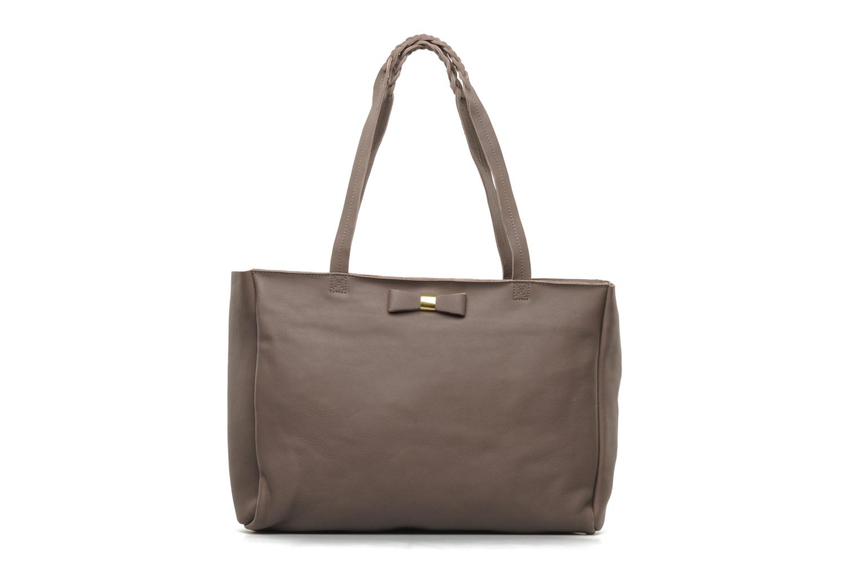 Handbags Petite mendigote QUEEN VICTORIA CABAS Grey detailed view/ Pair view