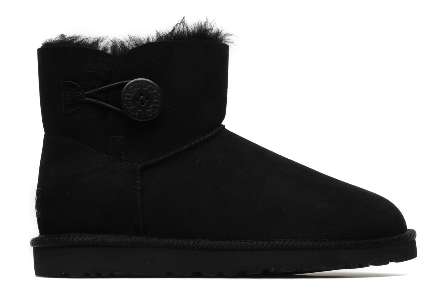 Ankle boots UGG Mini bailey button Black back view