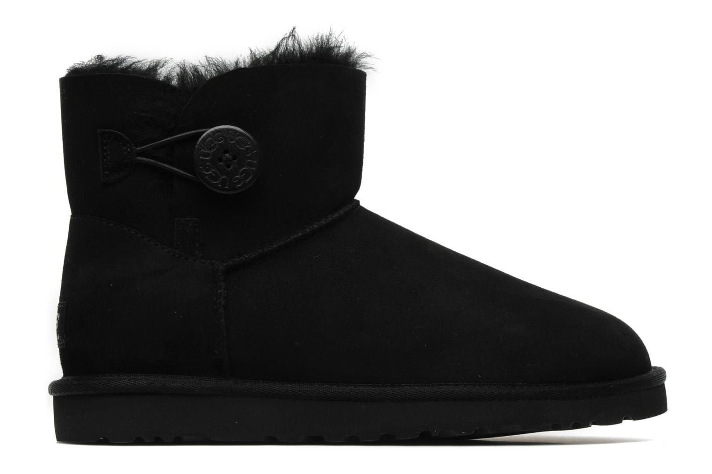 Boots en enkellaarsjes UGG Mini bailey button Zwart achterkant