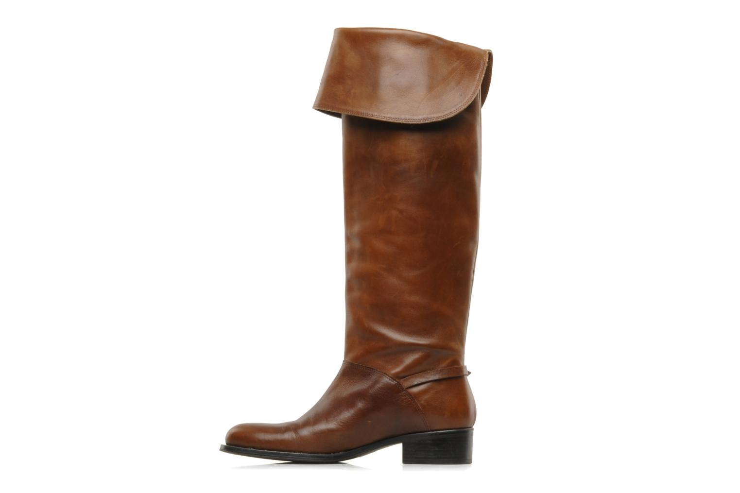 Boots & wellies Jonak Indi Brown front view