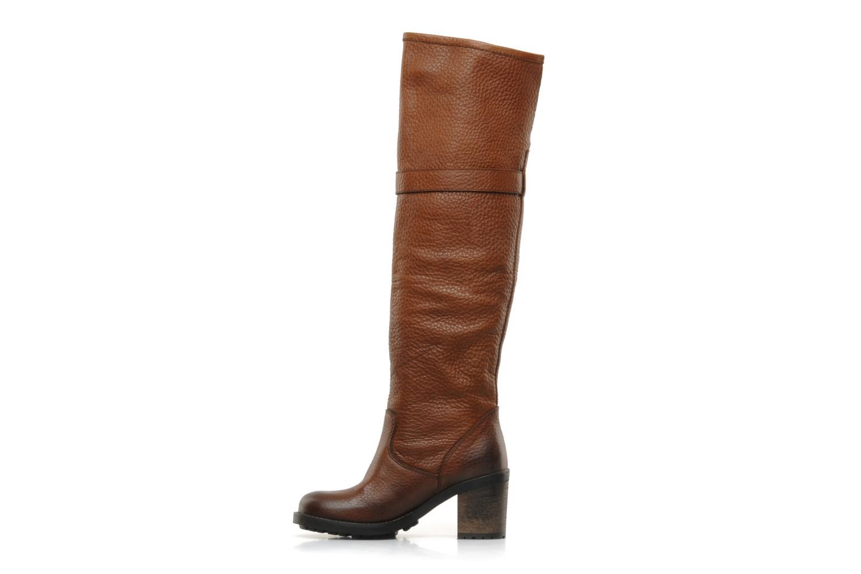 Boots & wellies Jonak Radia Brown front view