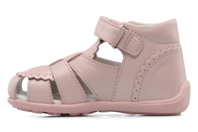 Sandalen Chicco GIARA rosa ansicht von vorne