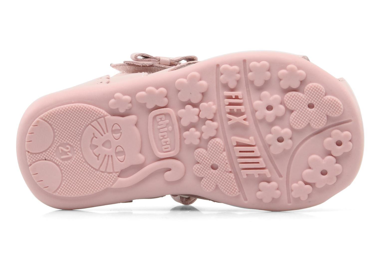 Sandales et nu-pieds Chicco GIARA Rose vue haut