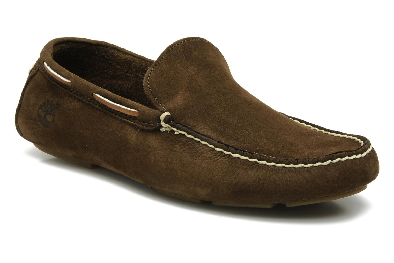 Buying New Timberland Heritage Driver Venetian Loafers Men Dark Earth Nubuck T119725