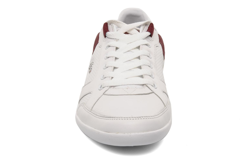 Telesio Hs White Dark Red