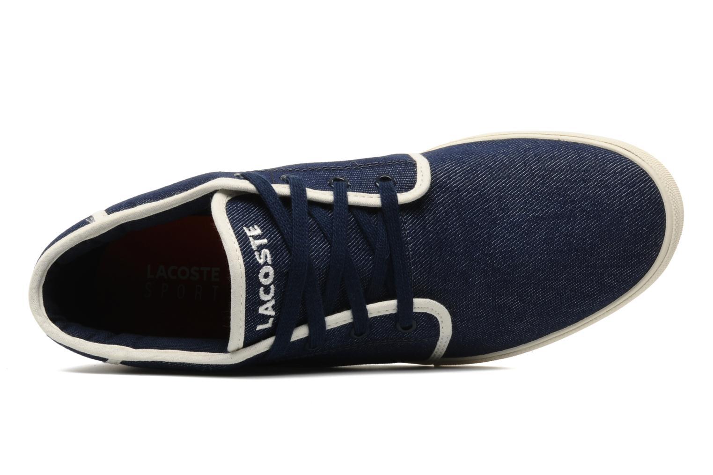 Sneakers Lacoste Ampthill Tk Azzurro immagine sinistra